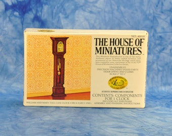 House of Miniatures Vintage Scale Model of Model Clock