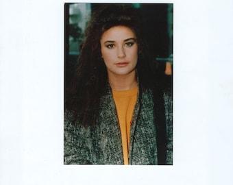 Vintage Demi Moore, 4x6, Color Photograph, Fujicolor Paper, Demi Gene Guynes, Ghost, GI Jane, Bruce Willis, Indecent Proposal, Disclosure