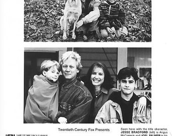 Vintage Photograph Jesse Bradford Far From Home: The Adventures Of Yellow Dog 1985, 8x10 Black & White Promotional Photo