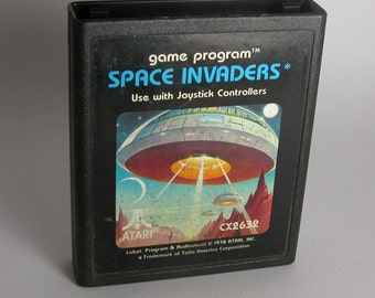 Atari 2600 Vintage Space Invaders Game From 1977 - Atari