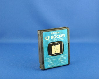 Vintage Atari 2600 Game Ice Hockey, 1981