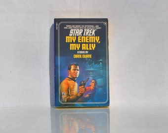 Vintage Paperback Book Star Trek The Original series My Enemy, My Ally #18 1984 - Paramount - Pocket Books - Kirk - Spock - Klingon - McCoy
