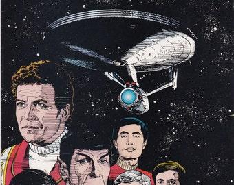 Vintage Star Trek Comic Book, Star Trek Original Series, Number 66, December 1994, DC Comics