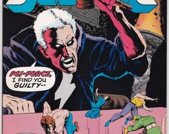 Justice Comic Book Number 30 April 1989, Marvel Comics
