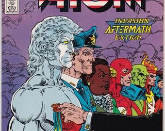 Captain Atom Comic Book Number 25 January 1989, DC Comics
