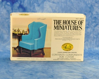 House of Miniatures Vintage Scale Model of Model Chair