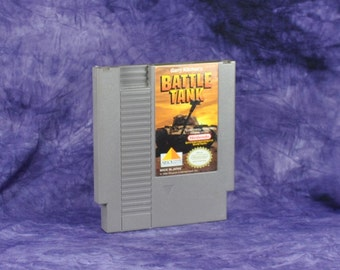 Vintage Nintendo Game Battle Tank Absolute 1990, NES, Video Game, Console Game, Vintage Game, Vintage Nintendo, Vintage NES, War Game