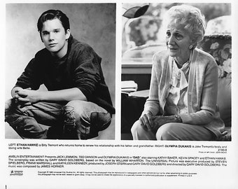 Vintage 1989 Ethan Hawke Vintage 8x10 Black and White Photograph - Studio Promotion