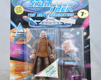 Vintage Star Trek Action Figure, Dr Noonian Soong Cyberneticist Creator of Data, 6070 6038 1994
