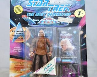 Vintage Star Trek Action Figure, Dr Noonian Soong Cyberneticist Creator of Data, 6070 6038 1994