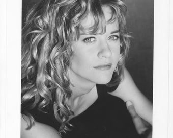 Vintage Photograph Meg Ryan from Prelude to a Kiss 1992, 8x10 Black & White Promotional Photo, Movie Star Photo