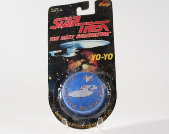 Vintage Star Trek The Next Generation Yo-Yo By Spectra Star U.S.S Enterprise 1993