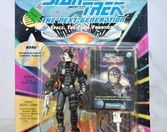 Vintage Star Trek Action Figure The Borg, 6070 6077 1993 Next Generation, Playmates Figure