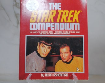 Vintage Star Trek Compendium, 1986, 20th Anniversary Edition, Pocket Books, Paperback