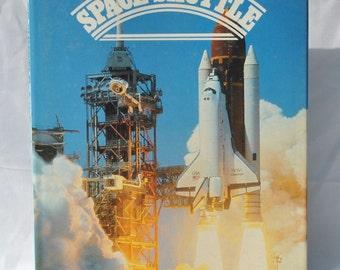 Vintage Space Shuttle Book, 1985, Hardback, Space Flight, Test Pilots, Shuttle, Spacecraft, Satellites, Astronauts, Moon, Moon Walking