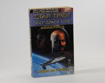 Vintage Star Trek Book, Saratoga No 18 1996 Paperback
