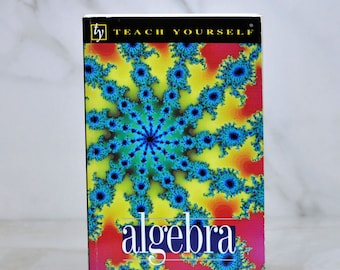Vintage Teach Yourself Algebra, 2nd Edition, 1996, Paperback