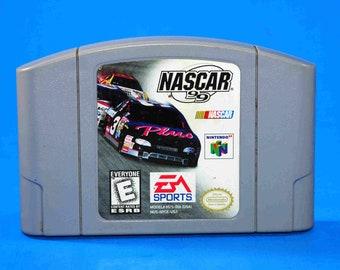 Vintage Nintendo 64 NASCAR 99, N64 Game