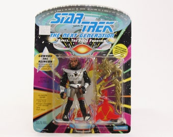 Vintage Star Trek Gowron the Klingon The Next Generation Action Figure Playmates 6010 6053 1992