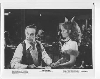 Vintage Photograph, Karen Black, Jack Carter in Separate Ways 1981 8x10 Black & White Promotional Photo