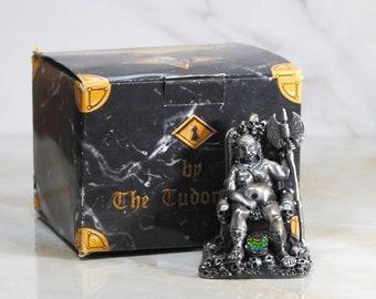 Vintage Tudor Mint Guardian Of The Skulls No 6202, Dark Secrets Collection, Retired, Pewter Figure Made in UK 1990s