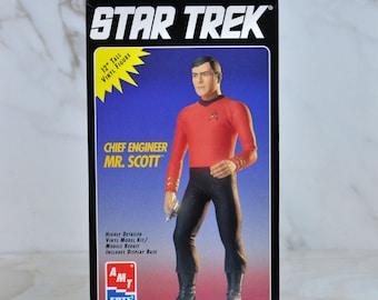 "Vintage 1994 Star Trek The Original Series 12"" Model Kit Special Collectors Edition - Chief Engineer Mr. Scott"
