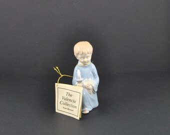 Vintage First Holy Communion Figurine from the Valencia Collection 1984