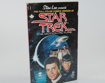 Vintage Book, Star Trek The Motion Picture Stan Lee Presents The Full Color Comics Version, 1980, Paperback