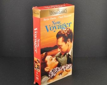 Vintage VHS Tape Voyager 1942 Remake starring Bette Davis & Paul Henrei