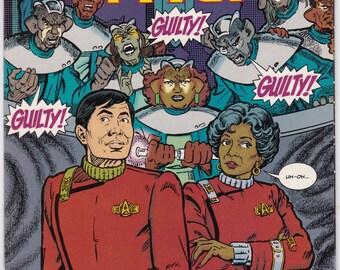 Vintage Star Trek Comic Book, Star Trek Original Series, Number 31, May 1992, DC Comics