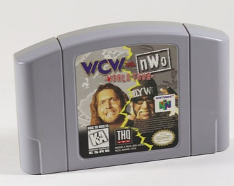 Vintage Nintendo 64 N64 WCW vs. NWO World Tour 1997, N64 Game