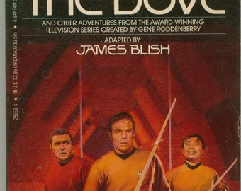 Vintage Star Trek Book, Day Of The Dove by James Blish 1985, Paperback