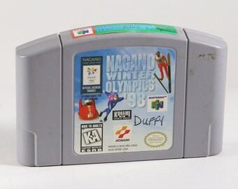 Vintage Nintendo 64 Nagano Winter Olympics 98, N64 Game