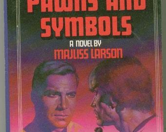 Vintage Star Trek Book, Pawns and Symbols No 26 1985 Paperback
