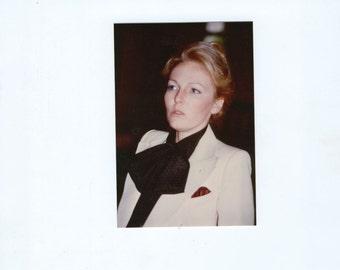 Vintage Patty Weaver 3 1/2 by 5 Color Photograph