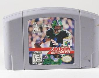 Vintage Nintendo 64 NFL Quarterback Club 2000