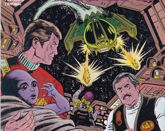 Vintage Star Trek Comic Book, Star Trek Original Series, Number 43, February 1992, DC Comics