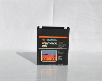 Vintage Atari 2600 Game Commando Raid 1982