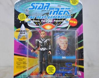 Vintage Star Trek Action Figure Commander Sela Romulan Commander