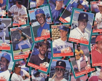 Vintage Baseball Cards 630-660 Donruss 1988 Singles, Combined Shipping, Order 1 or more cards and pay one combined shipping price -