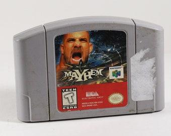 Vintage Nintendo 64 WCW Mayhem N64