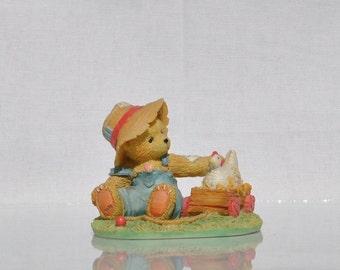 Vintage Cherished Teddies, Henry 1993, Priscilla Hillman Enesco Figurine