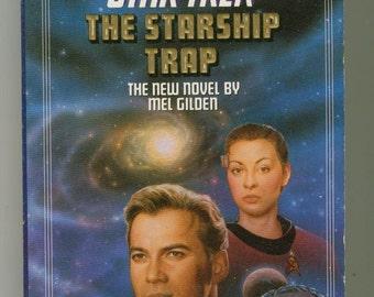 Vintage Star Trek Book, Star Trek, The Starship Trap No 64 1993, Paperback