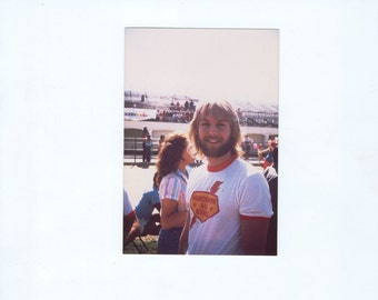 Vintage Photograph, Doug Davidson, 3x5 Color, Movie Star Photo