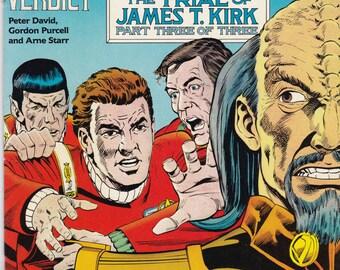 Vintage Star Trek Comic Book, Star Trek Original Series, Number 12, September 1990, DC Comics