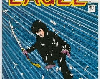 Vintage Comic Book, Eagle, Number 1, 1981, Crystal Publications