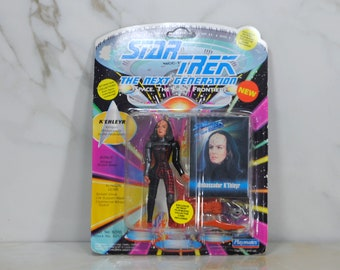 Vintage Star Trek Action Figure K'ehleyr Klingon Ambassador to the Federation 6070 6059 1993 Next Generation