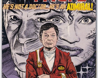 Vintage Comic Book, Star Trek Original Series, Number 28, April 1992, DC Comics