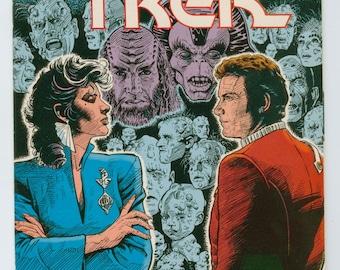 Vintage Star Trek Comic Book, Star Trek Original Series, Number 6, March 1990, DC Comics