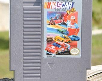 Vintage Nintendo Game Bill Elliott's NASCAR Challenge 1991